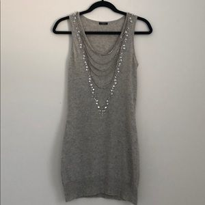 Magaschoni 100% Cashmere Sleeveless Dress